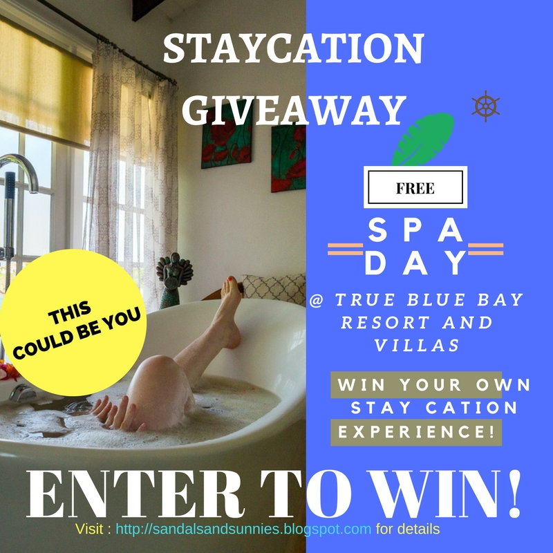 GIVEAWAY :: WIN A STAYCATION EXPERIENCE AT TRUE BLUE BAY RESORT FOR FREE!!!!