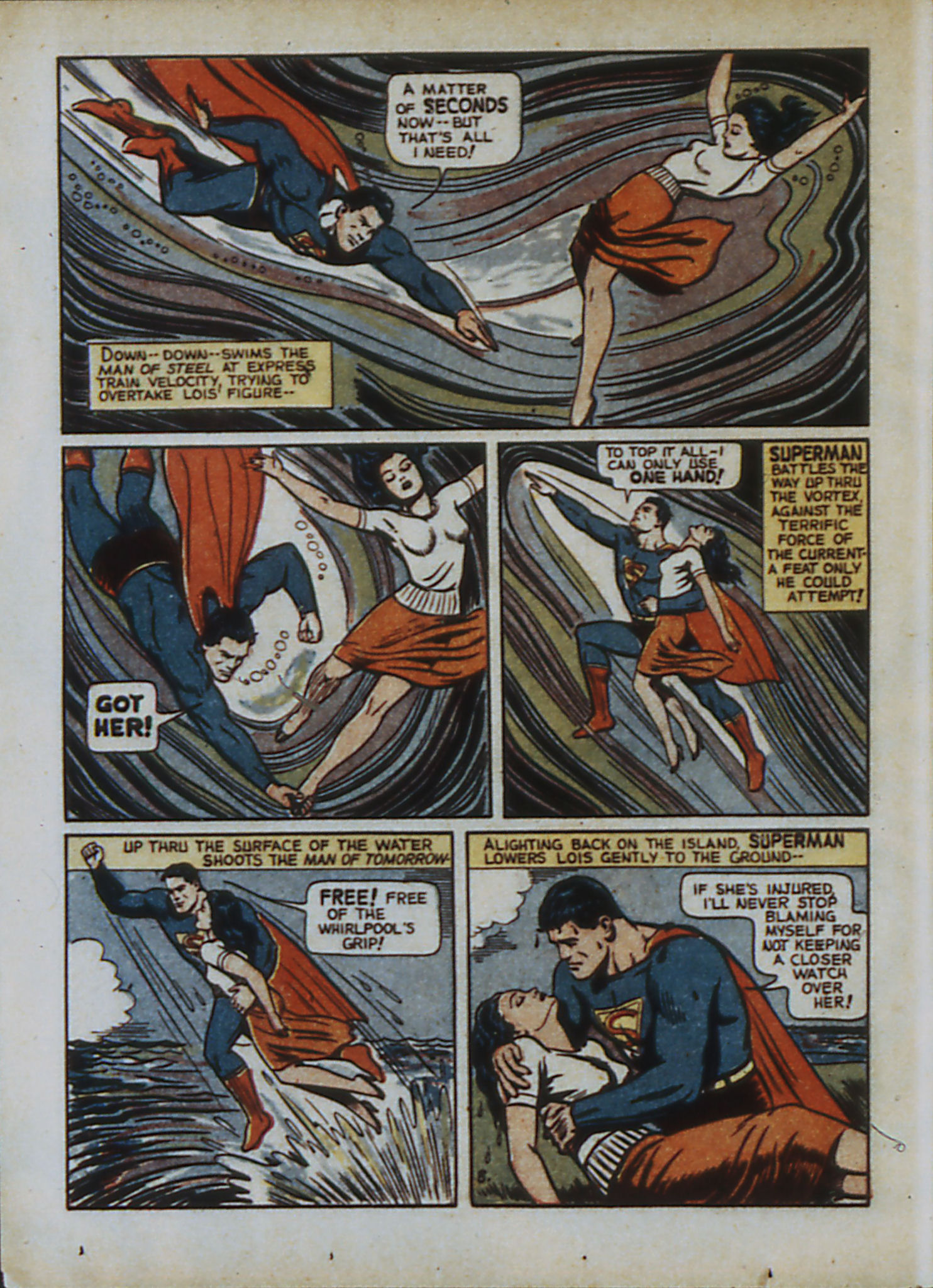 Read online Action Comics (1938) comic -  Issue #33 - 11