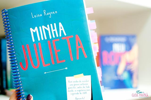 [Resenha] Minha Julieta | Leisa Rayven