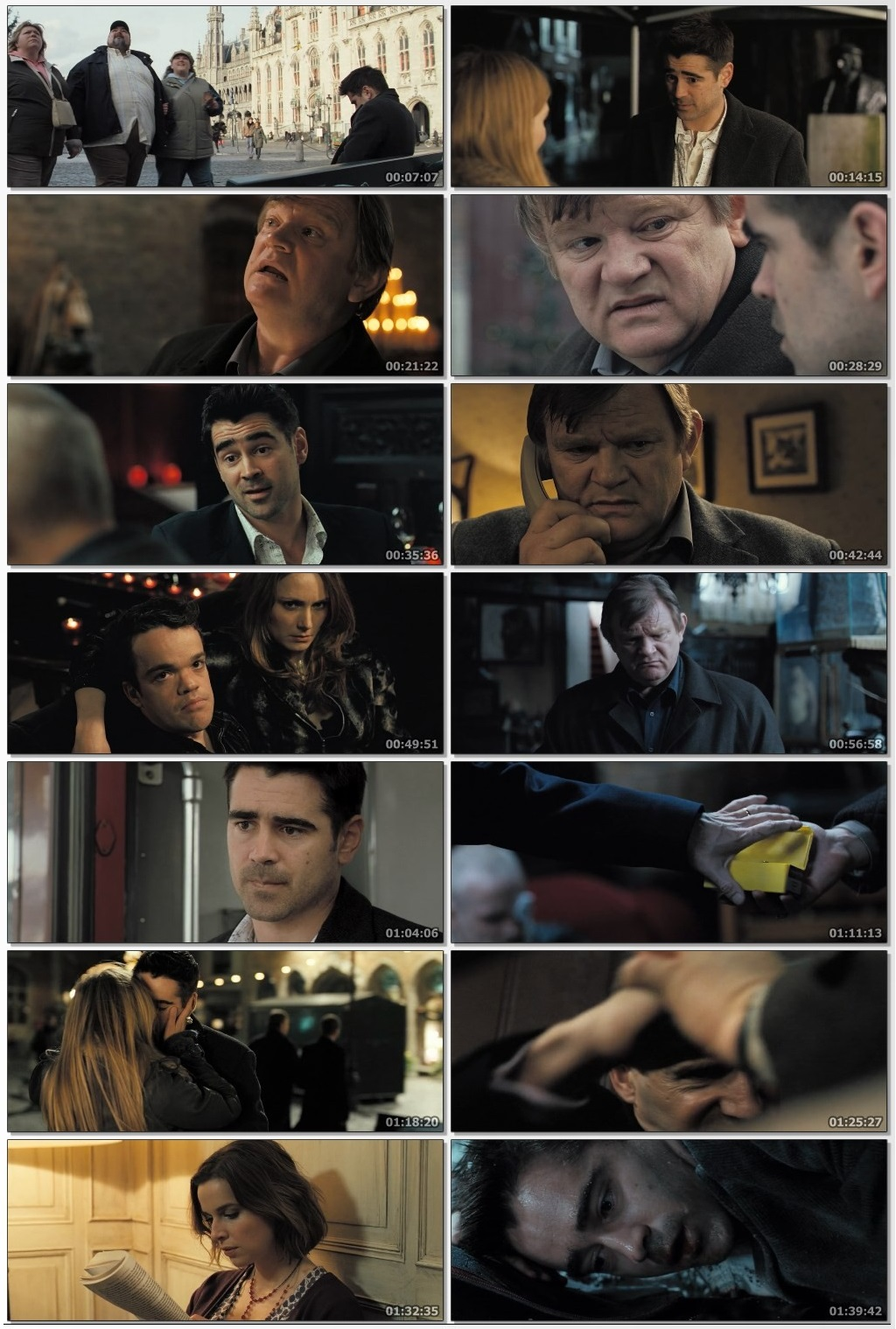 In Bruges 2008 Dual Audio Hindi ORG 720p BluRay 900MB ESubs Full