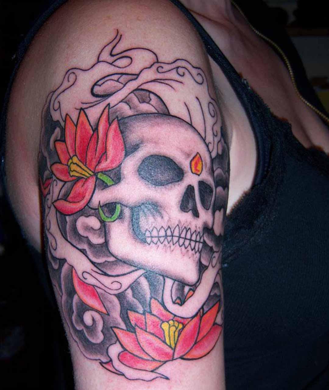 Allentryfashionupdates: Skull Tattoo Designs