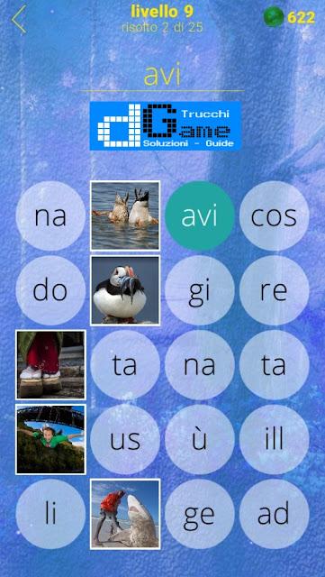 650 Foto soluzione pacchetto 9 livelli (1-25)