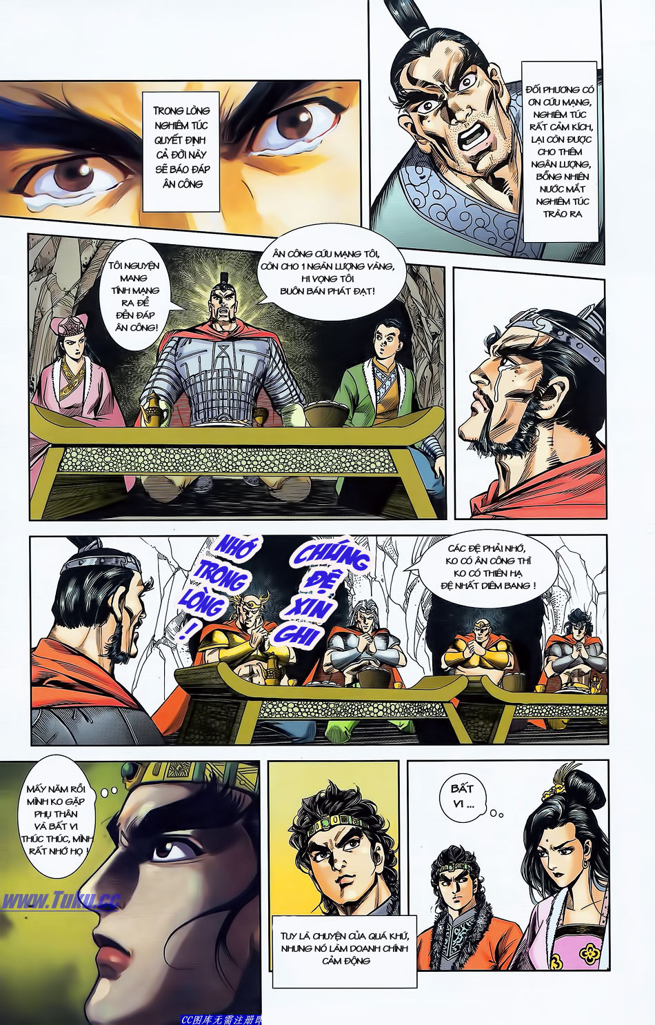 Tần Vương Doanh Chính chapter 4 trang 26
