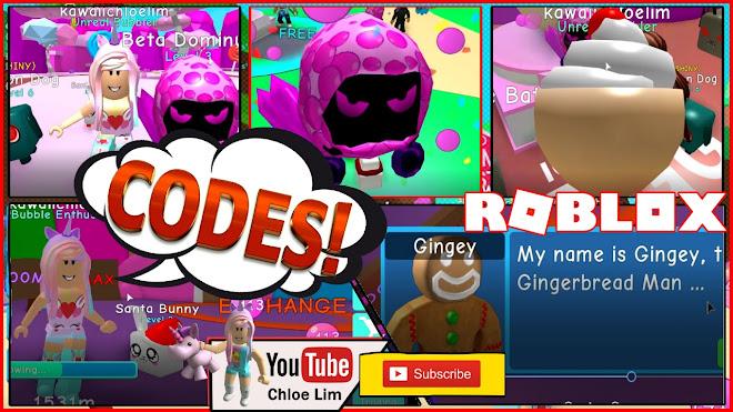 Roblox Bubble Gum Simulator Gameplay! FREE DOMINUS PET! 6 Codes