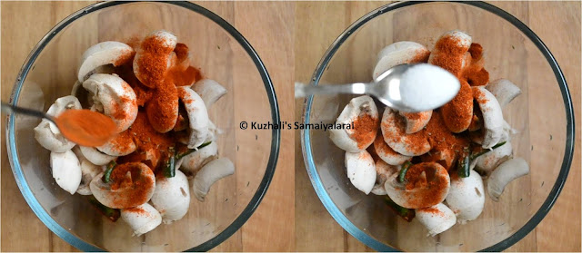 Devil Mushroom- Simple Mushroom Masala