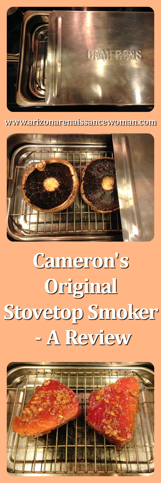 Cameron's Original Stovetop Smoker - A Review - Collage