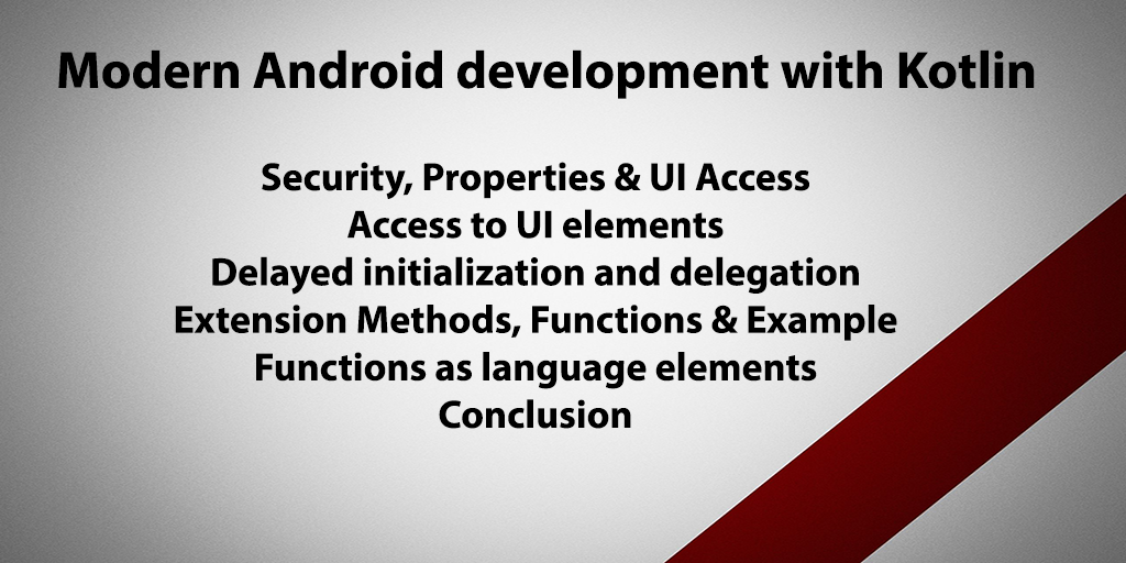Modern Android development with Kotlin - KaliTut