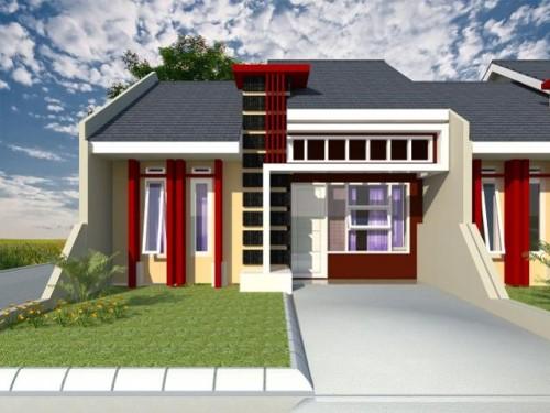 Contoh Desain Gambar Rumah Minimalis Type 45
