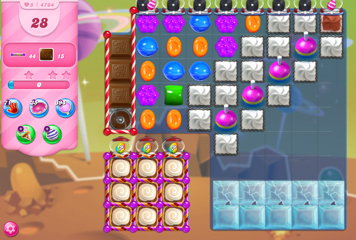 Candy Crush Saga level 4784