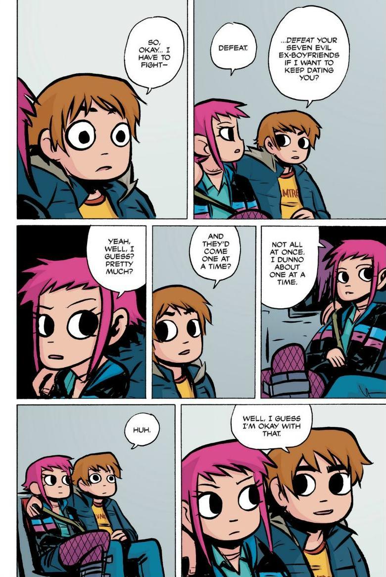 Read online Scott Pilgrim comic -  Issue #1 - 147