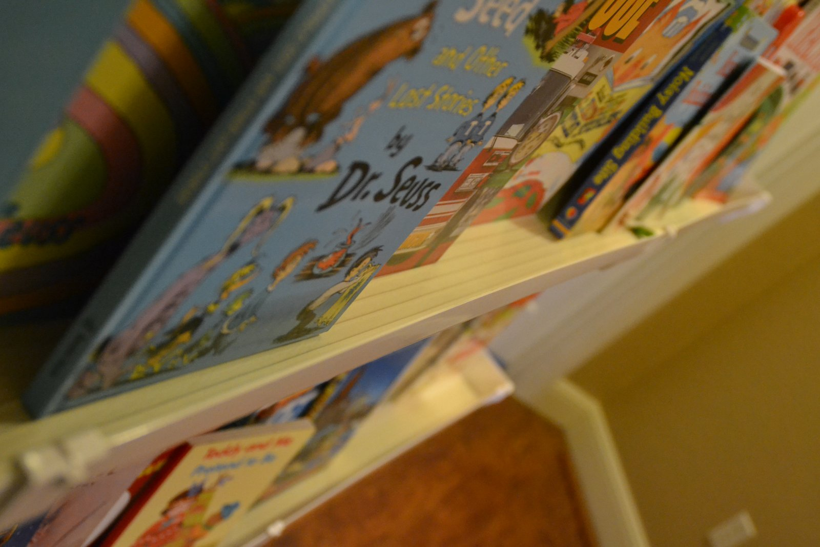 Thricethespice Rain Gutter Bookshelf