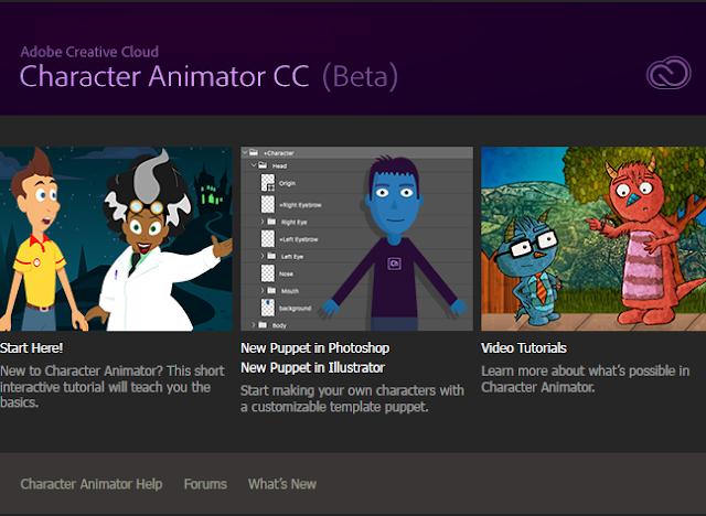 Adobe Character Animator CC 2017 Free Download