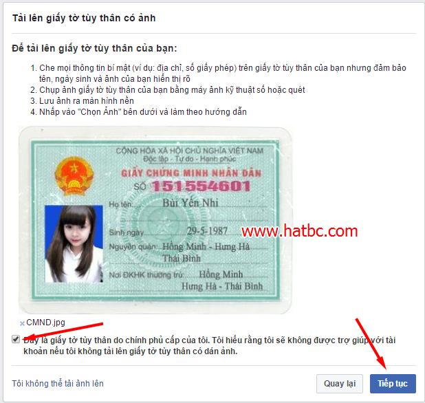 checkpoint, xác minh danh tính, facebook, giấy tờ tùy thân, khóa facebook