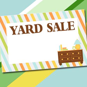 Yard Sale Printables Kit