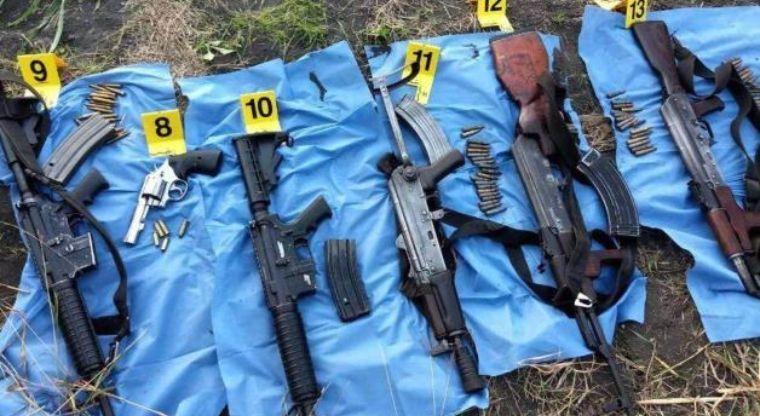 7 sicarios abatidos; saldo de un operativo por efectivos