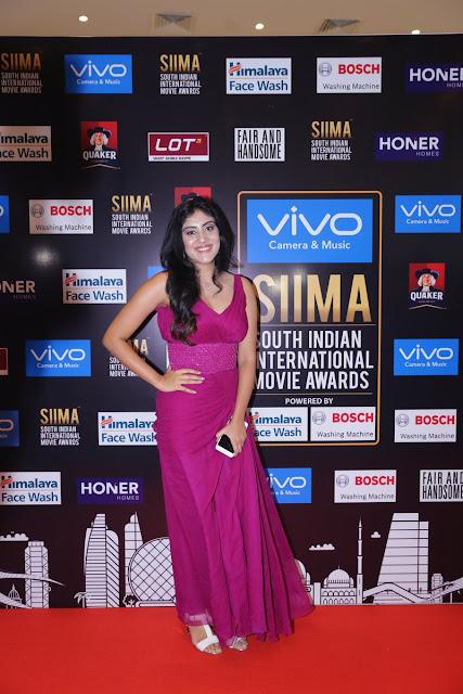 dhanya balakrishna on the red carpet at SIIMA Awards Day 1