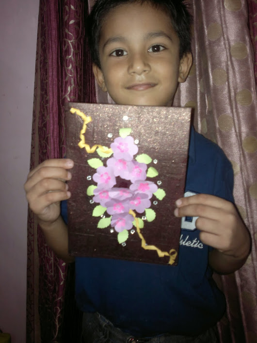 Card Made by my Student
