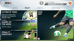 FIFA 14 v1.3.6 Mod Apk + Data Obb Full Version