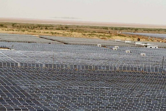 WORLD's LARGEST SOLAR POWER STATION