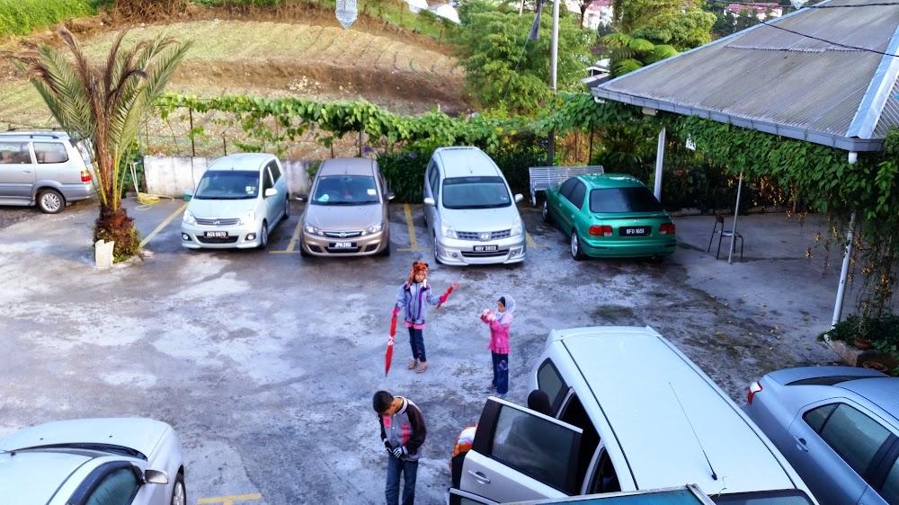 Parking di ASZI Chalet