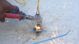 membuat sendiri mesin las listrik dari aki baterai 12v