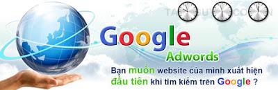 Quảng cáo trên Google Adwords