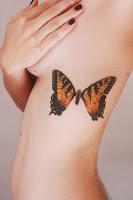tattoo sexy de mariposa