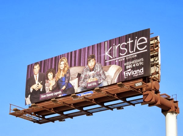 Kirstie series premiere billboard
