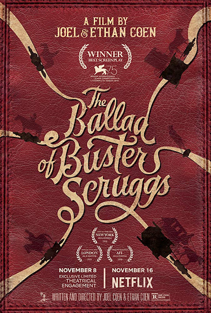 The Ballad of Buster Scruggs 2018 movie poster