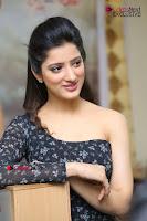 Telugu Actress Richa Panai Stills in One Shoulder Floral Long Dress at Rakshaka Bhatudu Movie Interview  0249.JPG