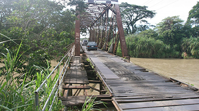 7. Bridge Quepos, Kosta Rika