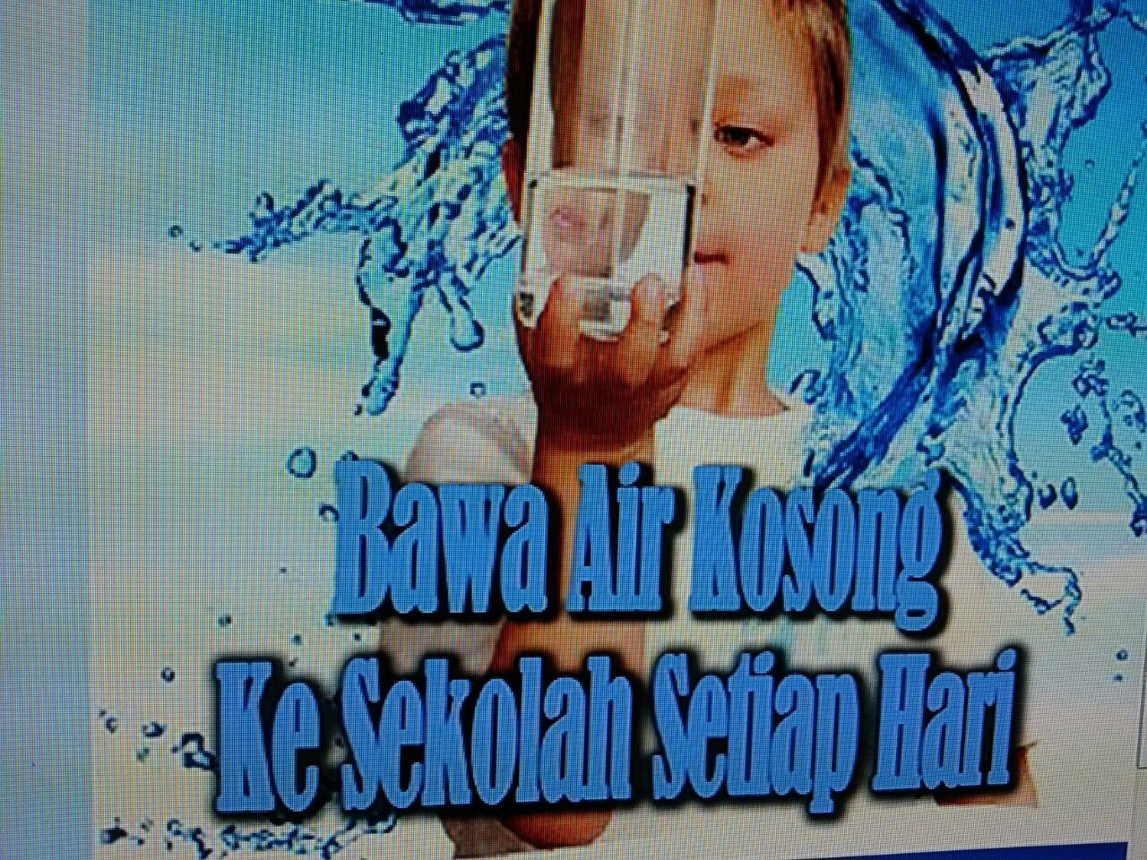 Kempen Minum Air Kosong - Dapat Botol Air