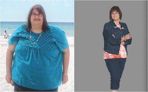 Bà ngoại giảm 110 kg mà không cần ăn kiêng