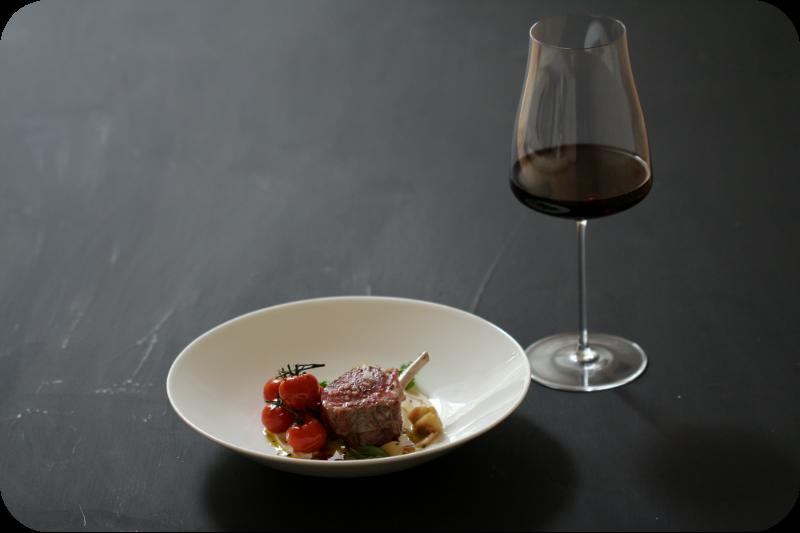 Ribera del Duero mit Lammkarree, Püree aus weißen Bohnen und confierten Tomaten | Arthurs Tochter kocht von Astrid Paul