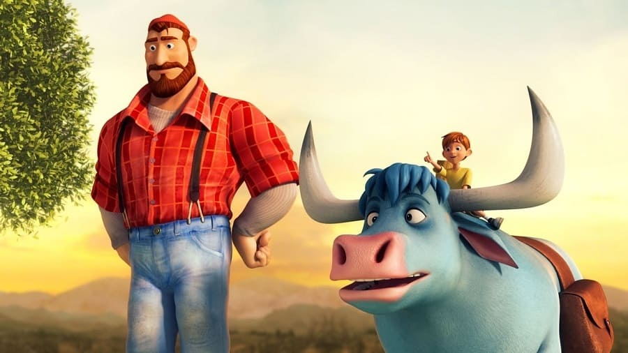 Filme Bunyan e Babe - Os Amigos da Floresta Dublado para download torrent 1080p 720p
