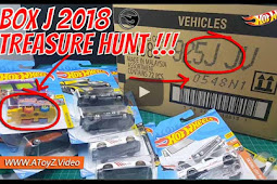DAPET KOOL KOMBI TREASURE HUNT 2018 DI Hot Wheels LOT J / BOX J 2018 Unboxing - Unboxing Indonesia