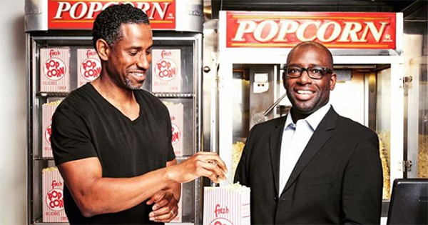 Stacy Spikes and Hamet Watt, founders of MoviePass