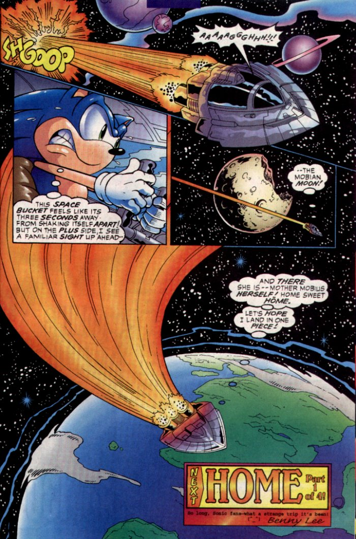 Read online Sonic The Hedgehog comic -  Issue #129 - 25