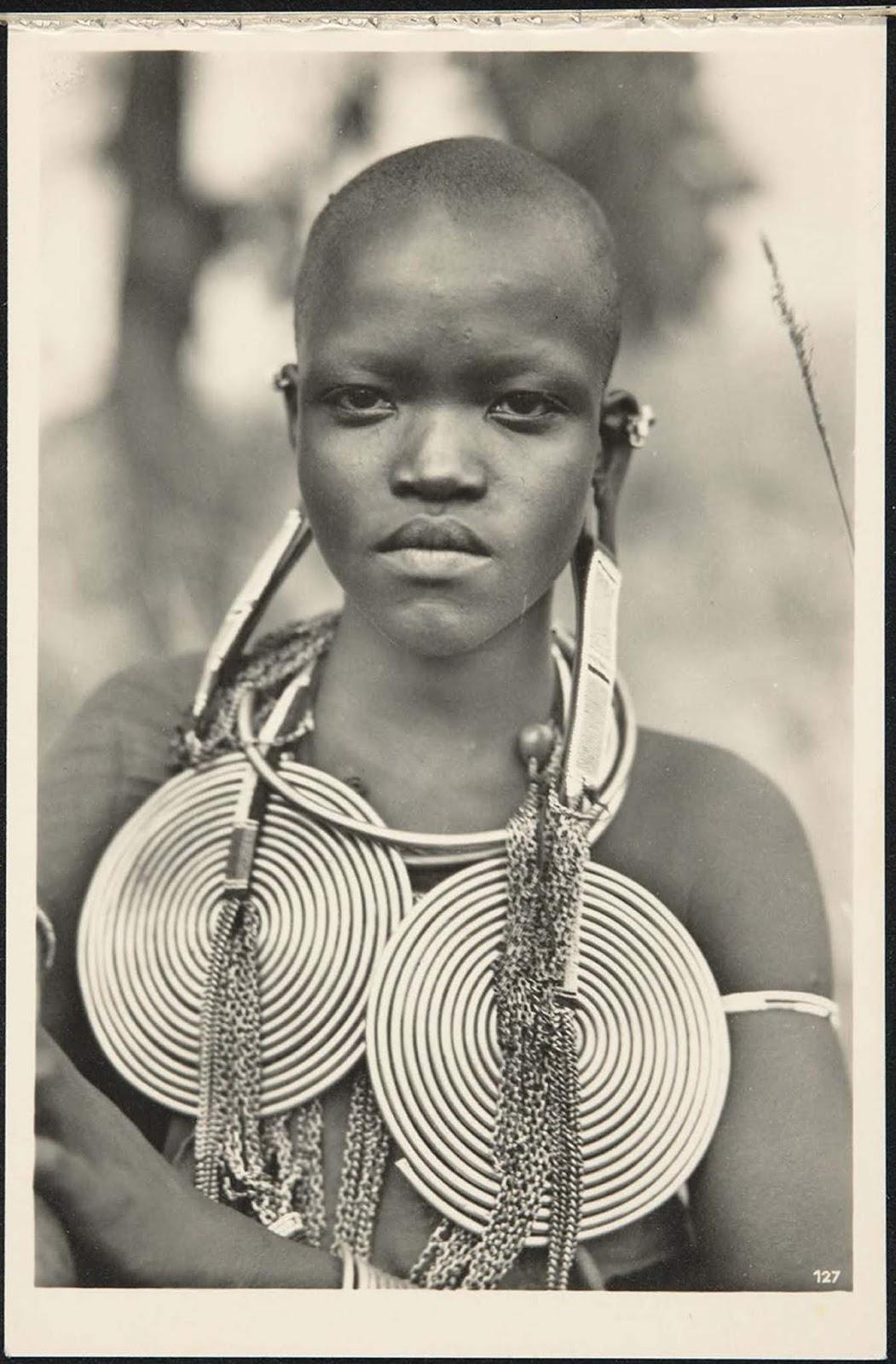 Nandi type. Uganda Protectorate (Uganda).