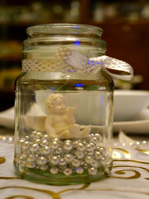 christmas angel table