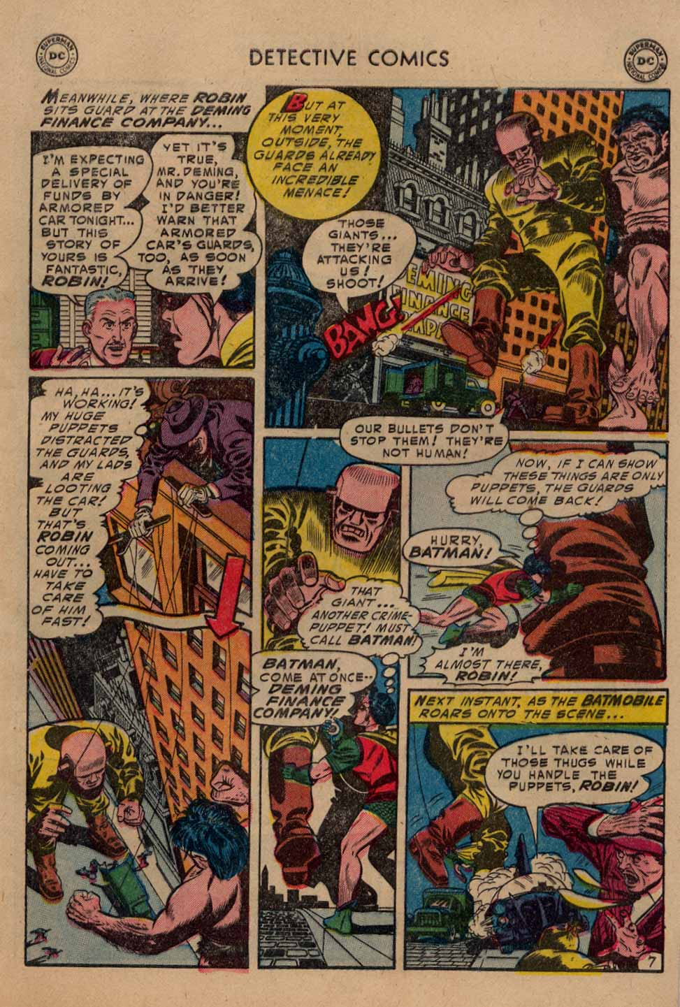 Read online Detective Comics (1937) comic -  Issue #212 - 8