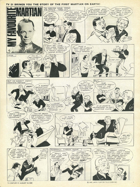 Read online TV Century 21 (TV 21) comic -  Issue #83 - 7