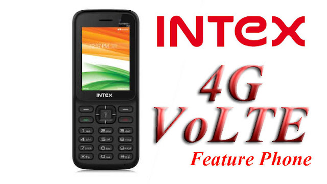 Intex Turbo Plus 4G smart feature phone