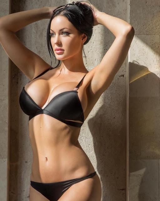 Hot girls Verónica Black sexy big breasts Fan David Beckham 6