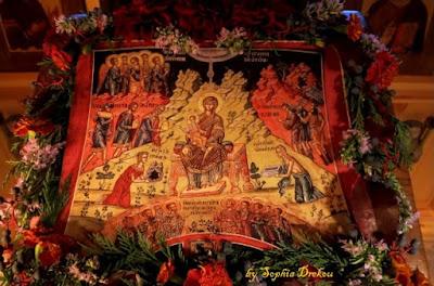 τί σοι προσενέγκωμεν Χριστέ... The Veneration of the new born Christ