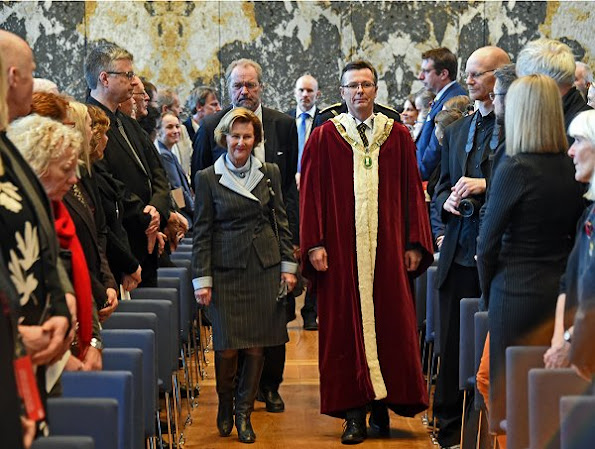 Queen Sonja of Norway attended the opening of the new Faculty of Fine Art, Music and Design at the University of Bergen