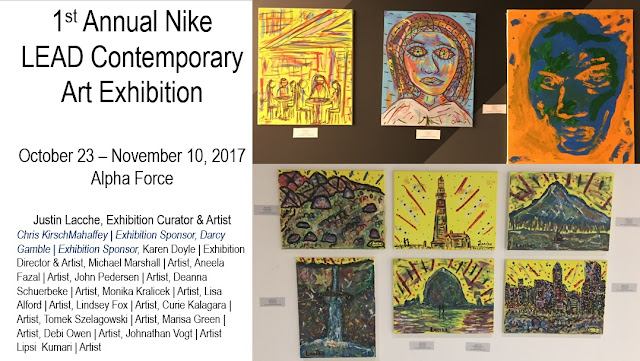 2017 | Justin Lacche | 1st Annual Nike LEAD Contemporary Art Exhibition