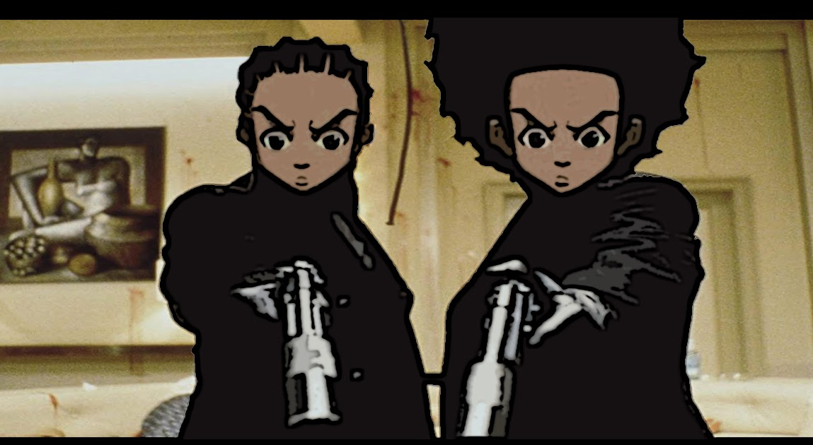 Gangsta Wallpaper Hd English Picture Essay The Boondocks And The Portrayal Of