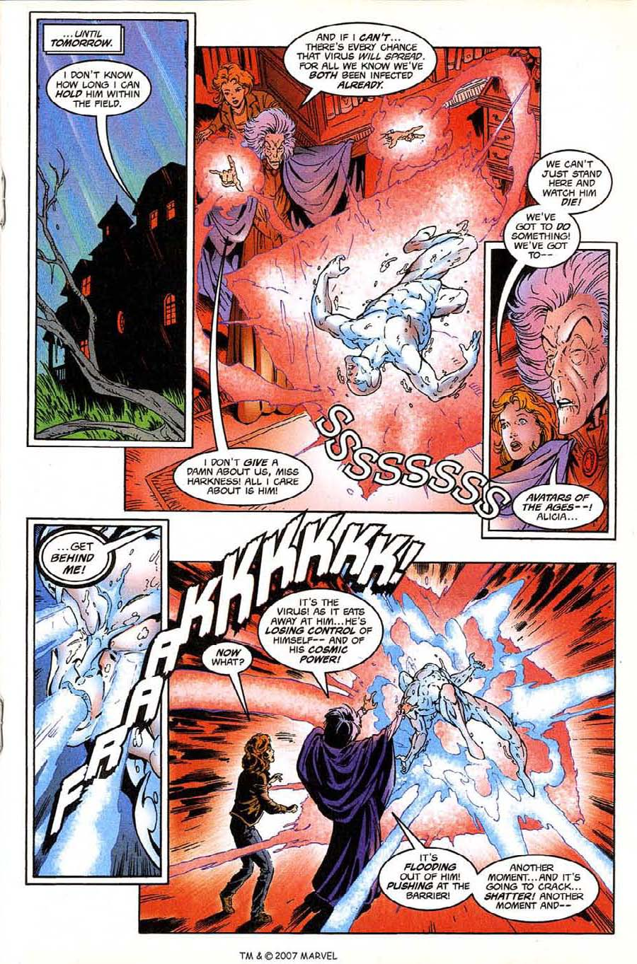 Read online Silver Surfer (1987) comic -  Issue #135 - 21