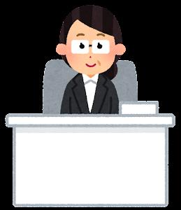 役職のある会社員のイラスト(女性2)